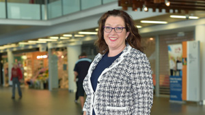 New Gold Coast Health Board Deputy Chair Teresa Dyson at Gold Coast University Hospital.